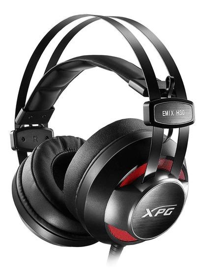 Audífono Gamer Xpg Adata Emix H30 + Amplificador Solox F30.