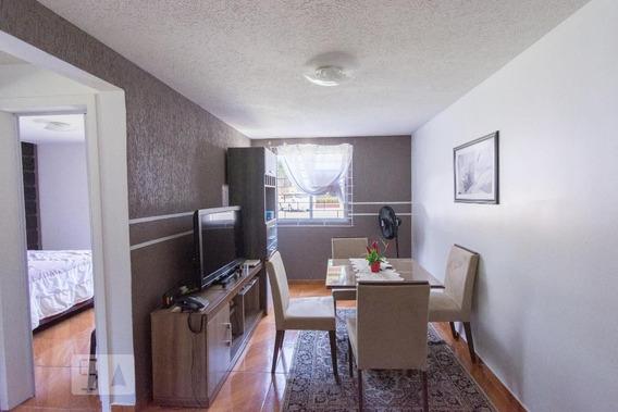Apartamento No 1º Andar Com 2 Dormitórios E 1 Garagem - Id: 892968567 - 268567