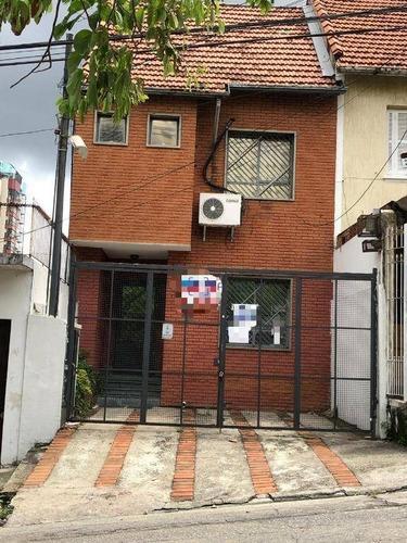 Casa 160m², 3 Dormitorios,  2 Vagas - Vila Clementino - Ca1106