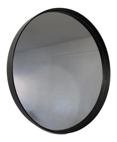 Espejo Redondo Circular Marco Con Hierro Diametro 50cm Baño
