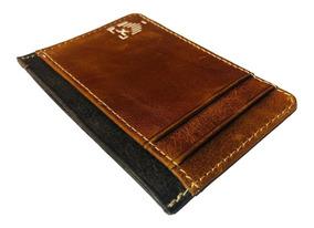 Tarjetero De Piel Minimalista / Card Holder Leather /