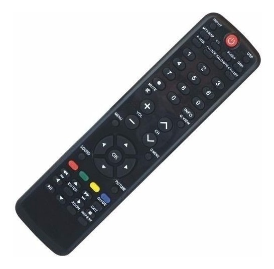 Controle Remoto Tv Lcd / Led Para H-buster Hbtv 32d03hd