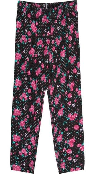 Roupa Infantil Menina Calça Legging Cotton Estampa Rotativa