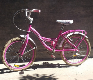 Bicicleta De Nena Rodado 20, Marca Tomaselli