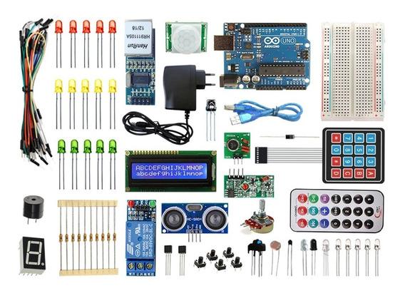 Kit Arduino Uno R3 - Automação Residencial - Ethernet