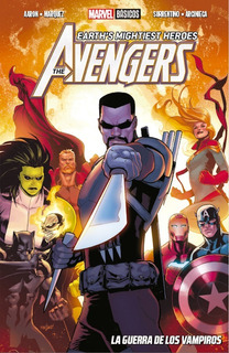 The Avenger La Guerra De Los Vampiros Marvel Comic