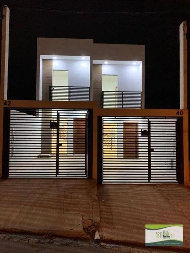 Casa Com 2 Dormitórios À Venda, 67 M² Por R$ 240.000,00 - Jardim Santo Antonio - Franco Da Rocha/sp - Ca0589