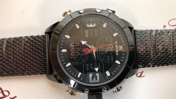 Relógio Masculino De Pulso Naviforce 9153 Esportivo K3887