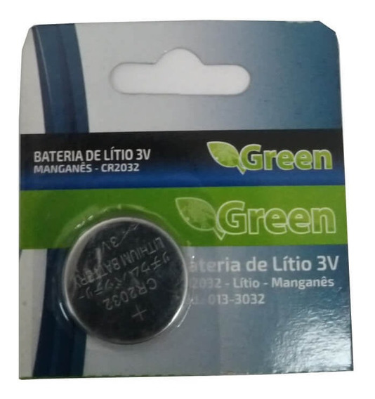 Bateria Lithium 3v Cr2032 | Green 013-3032 | Chipsce - Un