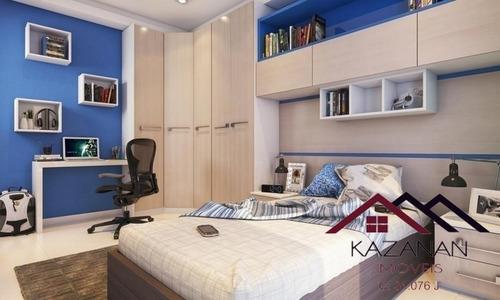 Apartamento De 2 Dormitórios Em Praia Grande - 3458