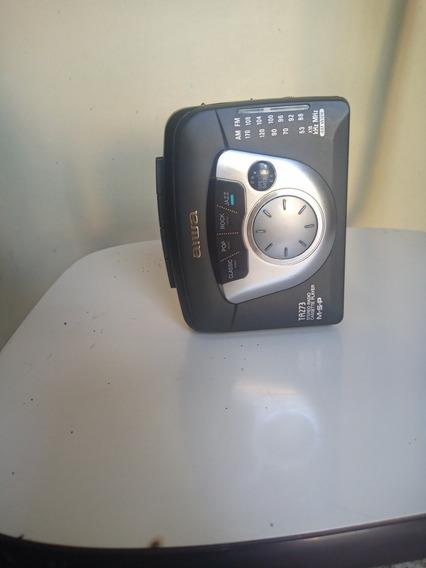 Walkman Aiwa Ta273 Sem A Tampa Das Pilha Funcionando