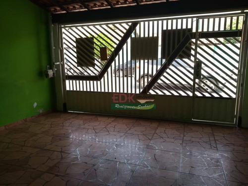 Imagem 1 de 17 de Ótima Casa Á Venda No Jardim Emilia Em Jacareí - Ca6011