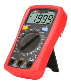Mini Multimetro Digital 600v 10a Ergonómico Portátil Ut33b+