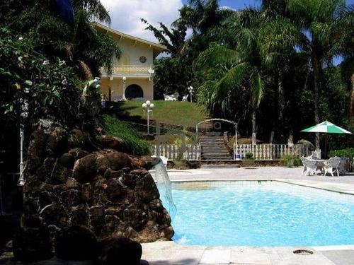Chácara Com 5 Dormitórios À Venda, 12000 M² Por R$ 1.400.000,00 - Condomínio Nova Suiça - Valinhos/sp - Ch0214