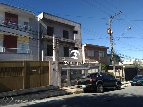 Apartamento Com 1 Dormitório À Venda, 40 M² Por R$ 210.000,00 - Vila Tibiriçá - Santo André/sp - Ap10472