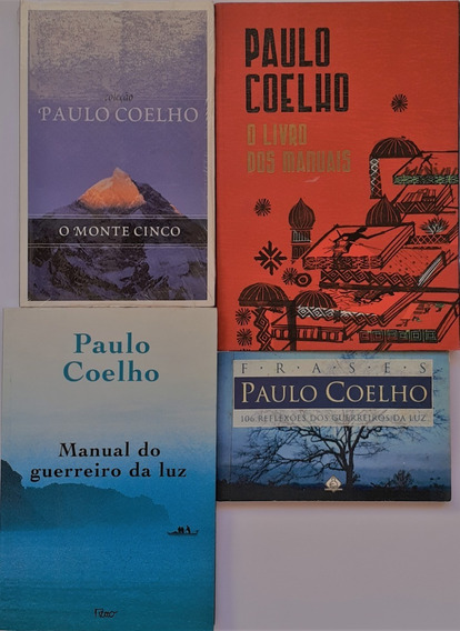 4 Paulo Coelho- O Livro Dos Manuais+o Monte Cinco(lacrado)+2