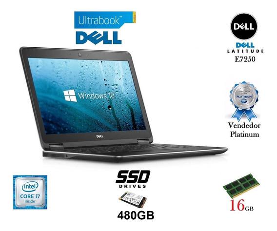 Ultrabook Dell I7 E7250 Ssd 480gb /16gb Promoção E Garantia