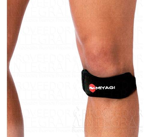 Imagen 1 de 1 de Rodillera Ortopédica Neopreno Strap Ajustable Miyagi (und)