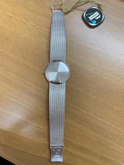 Relógio Audemar Piguet De Ouro Branco Feminino Novo