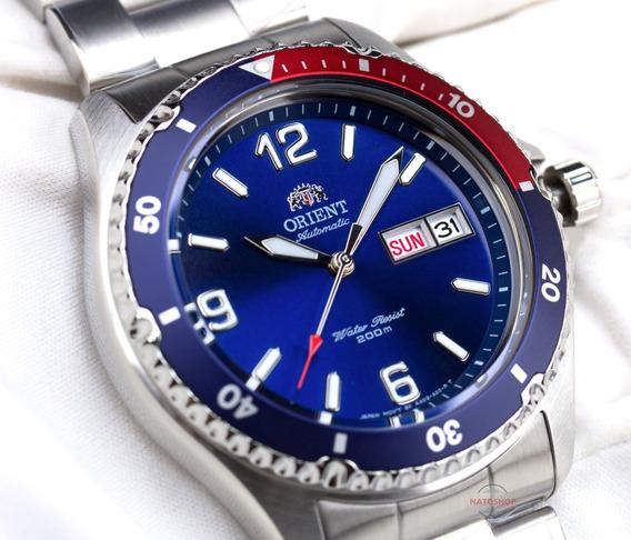 Relógio Orient Automático Mergulho Mako 2 Pepsi
