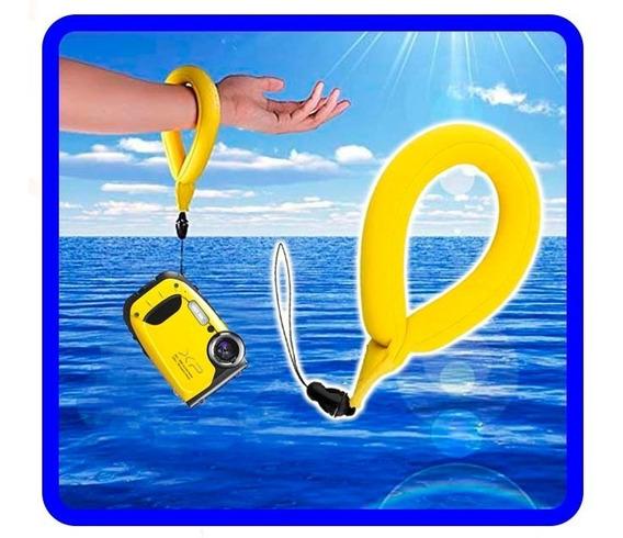 Alça De Pulso Flutuante Para Gopro E Cameras Subaquáticas