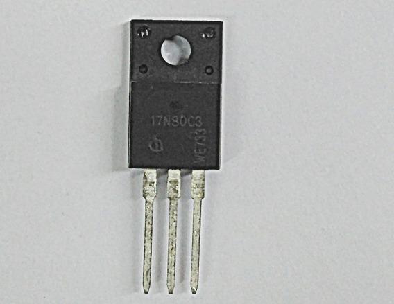 Transistor 17n80c3 To220f, Envio Via Carta Registrada Por 10