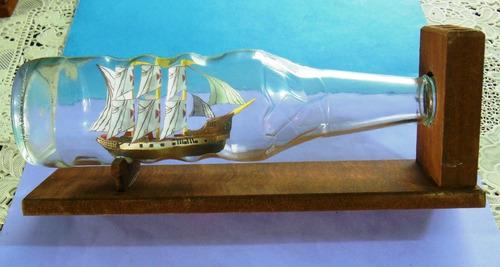 Barco En Una Botella, Modelismo Náuticos Deco Oficina Hogar