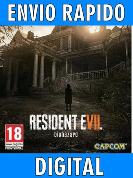 Resident Evil 7 Biohazard - Pc - Envio Imediato!!!