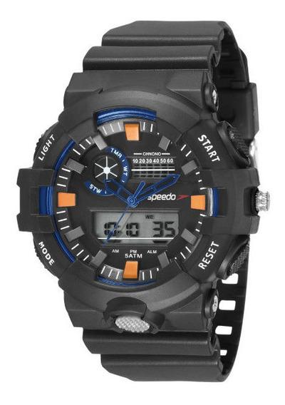 Relógio Speedo Masculino 81181g0evnp1 Digital