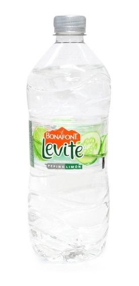 Levité Clásica Agua Saborizada Pepino Limón Botella 1 Lt