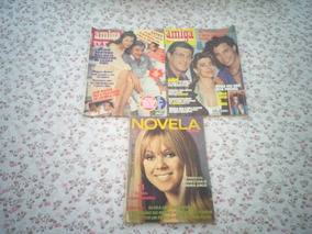 Lote C 3 Fotonovela Amiga Tv Tudo E Novela Mensal