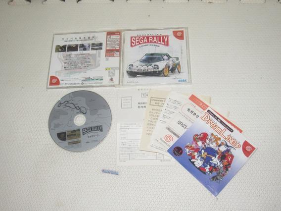 Sega Rally 2 Original Japones Completissima Para Dreamcast