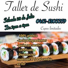 Curso Básico De Sushi En Valencia Carabobo
