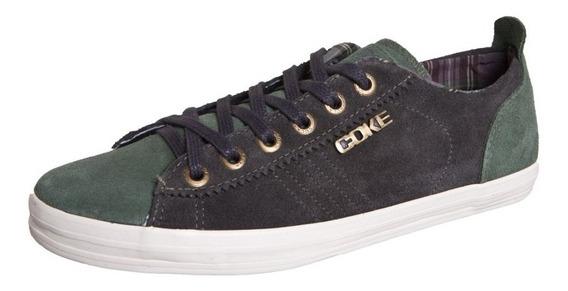 Tenis Maxi Cinza Coke Shoes