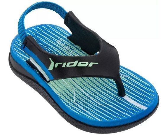 Chinelo Rider R1 Baby Marinho/ Azul