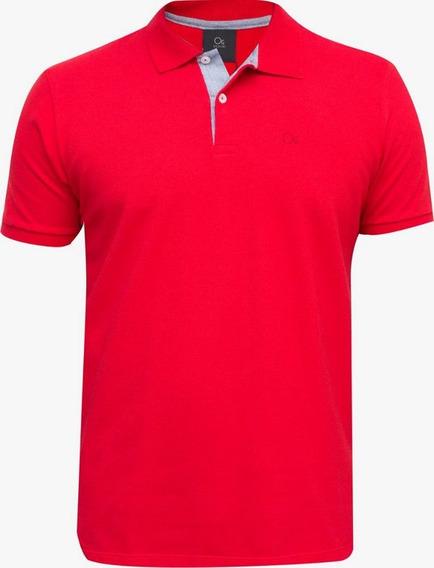 Camisas Masculinas Polo Ogochi Piquet Varias Cores