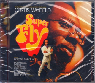 Cd Superfly Curtis Mayfield Importado Lacrado Black Music
