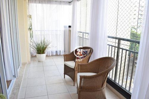 Apartamento Com 3 Dormitórios À Venda, 155 M² Por R$ 2.225.000,00 - Higienópolis - São Paulo/sp - Ap2731