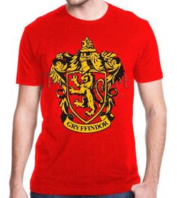 Camiseta Harry Potter Grifinória Hogwarts