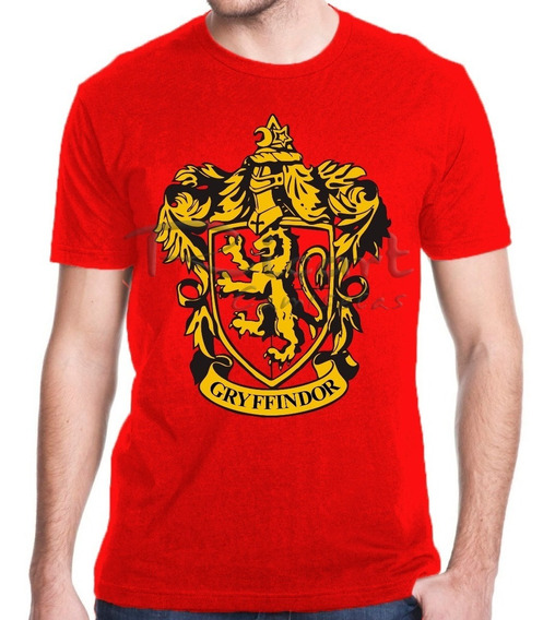 Camiseta Harry Potter Grifinória Hogwarts