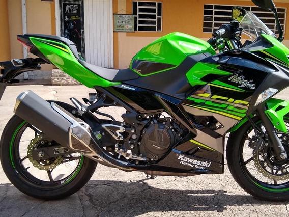 Kawasaki Ninja 400 Abs Usada Año 2020 Con 3800km
