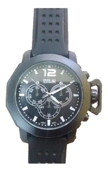 Relógio Swiss Hunter Importado + Pulseira + Frete Grátis