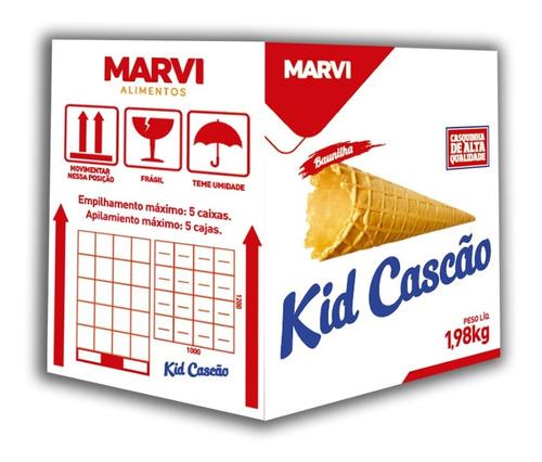 Kid Cascão Baunilha 1,98 Kg C/120 Marvi