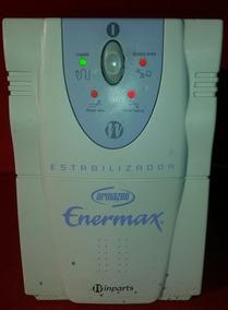 Estabilizador Enermax 3200va Entr 115/220v Saída 115v Bivolt