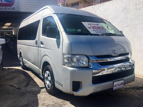 Toyota Hiace 2.7 Bus 15 Pas Mt 2015 Con Equipo De Gas