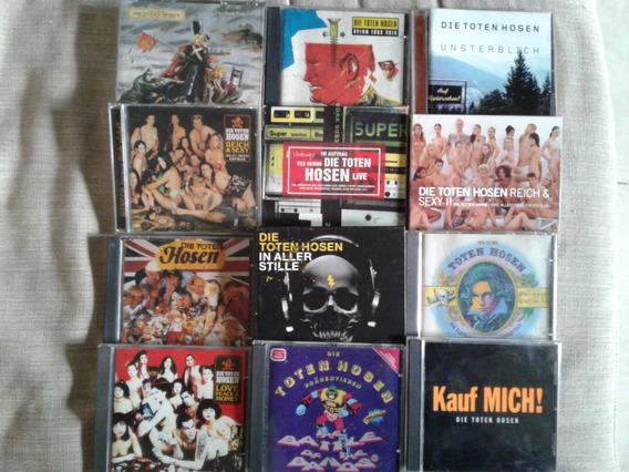 Die Toten Hosen - Lote 13 Cds + 1 Dvd Importados - Ramones