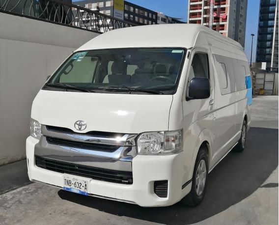 Toyota Hiace Lujo 2017