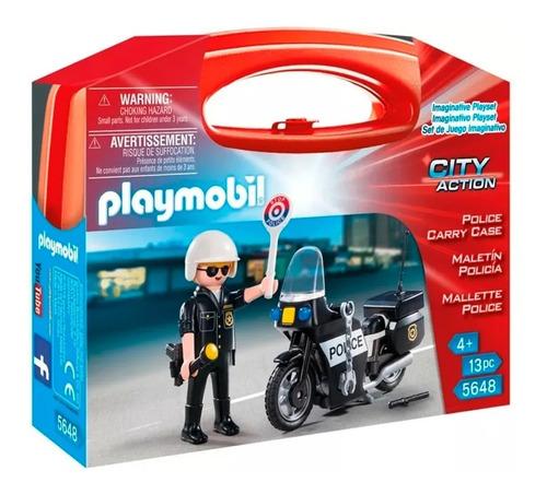Playmobil 5648 Maletin Policia
