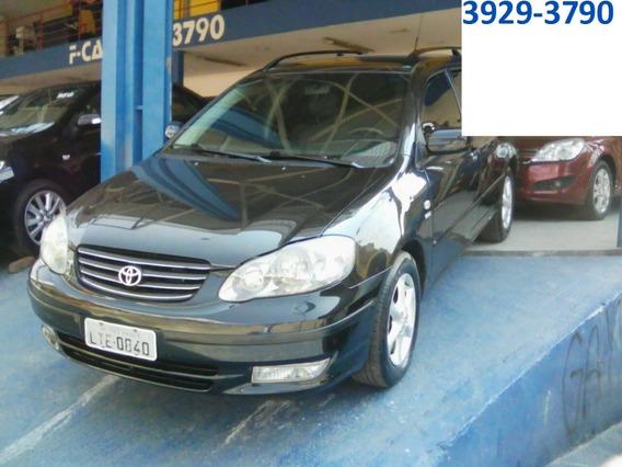 Toyota Fielder Aut 2006 Preta,completa,ot Estado