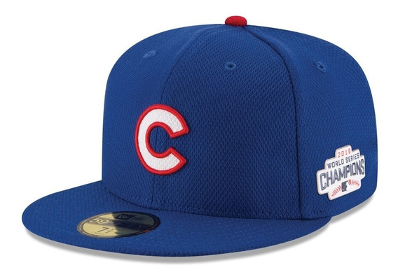 Gorra New Era Chicago Cubs Campeones 2016 59fifty Romb
